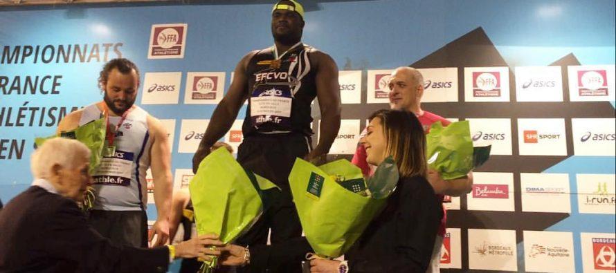 Athlétisme: Franck Elemba champion de France en salle