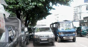 RDC – Décès d'Étienne Tshisekedi : même les véhicules portent le deuil