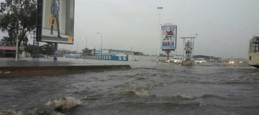 RDC: inondations à Kinshasa après de fortes pluies