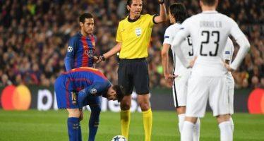 Pas de suspension pour l'arbitre de Barcelone-PSG