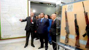 Algérie : Le président Denis Sassou N'Guesso visite l'Académie militaire interarmes de Cherchell