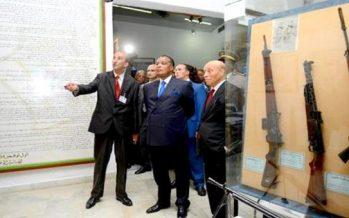 VIDÉO – Algérie : Le président Denis Sassou N'Guesso visite l'Académie militaire interarmes de Cherchell