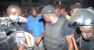 RDC – Les Images Exclusives de l'Arrestation de Ne Muanda Nsemi par la police congolaise