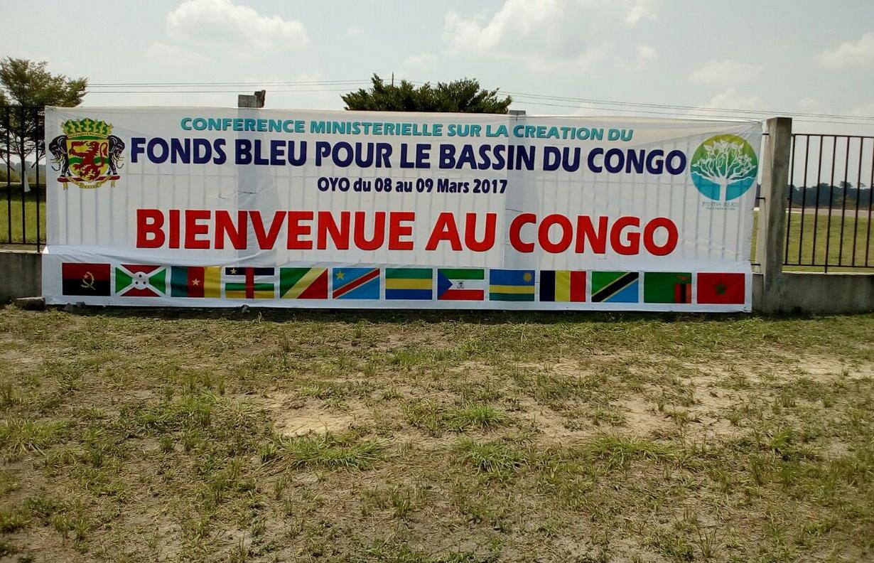 signature le 9 mars au Congo de l'accord de création du Fonds bleu pour le Bassin du Congo