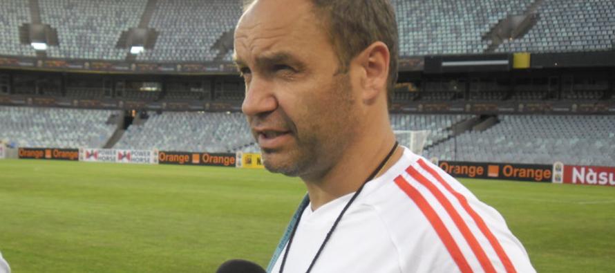 Sébastien Migné, nouveau sélectionneur du Congo-Brazaville