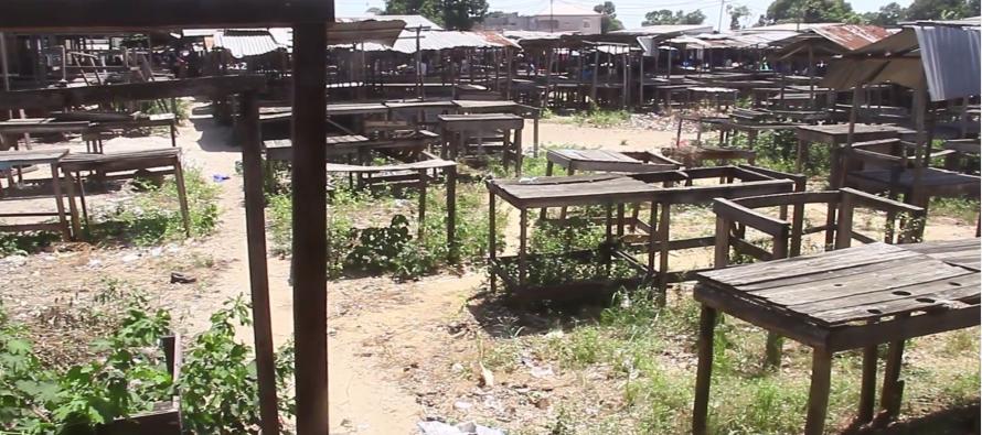 [VIDÉO] Pointe-Noire : Malgré l'installation de 1375 tables, le marché du kilomètre 8 reste désert