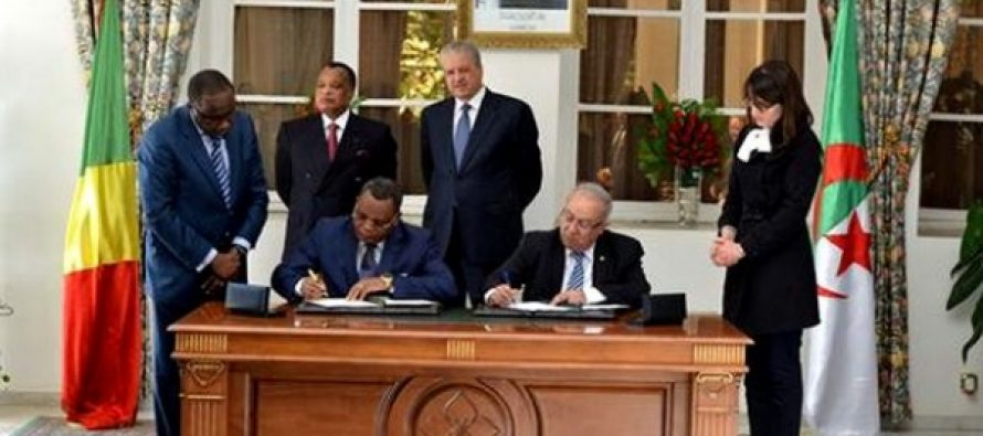 Algérie-Congo: signature de 15 accords et mémorandums de coopération