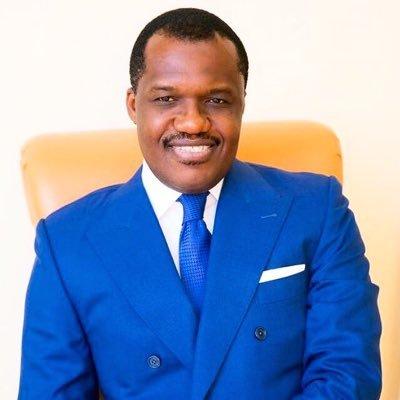 Edgard Nguesso, colonel de l'armée et Directeur du domaine présidentielle au Congo Brazza