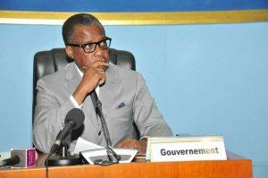 le ministre congolais des Zones économiques spéciales, Alain Akouala