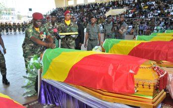 Congo: des honneurs militaires aux soldats tués dans le Pool