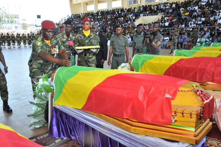 le chef d'Etat-major général, Guy Blanchard OKOI