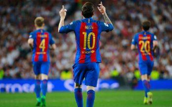 Foot – Espagne: le FC Barcelone bat le Real Madrid 3-2 avec un doublé de Messi