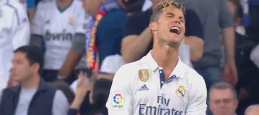 Vidéo – Clasico: la réaction de Cristiano Ronaldo après le but décisif de Lionel Messi