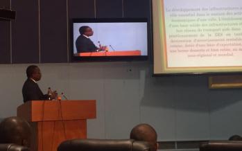 Congo: Alain Akouala présente aux députés le processus économique des Zones économiques spéciales