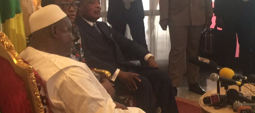 Adama Barrow, le nouveau Président gambien choisit Brazzaville pour sa première sortie en Afrique Centrale