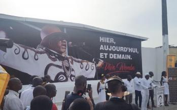 Abidjan ''immortalise'' Papa Wemba un an après sa mort