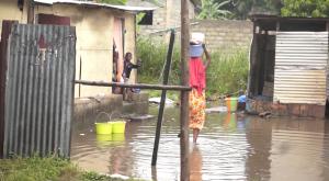 l'eau de pluie au Congo Brazzaville