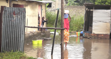 Congo : la Société Nationale de Distribution d'Eau (SNDE) déconseillé aux populations de boire l'eau de pluie