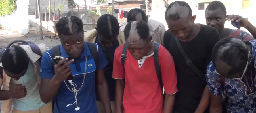 VIDÉO – Congo : La Brigade De Police Nommée Discipline Générale s'est appliquée aux élèves