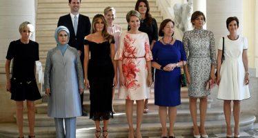 Sommet de l'Otan : Gauthier Destenay, un Premier homme au milieu des Premières dames