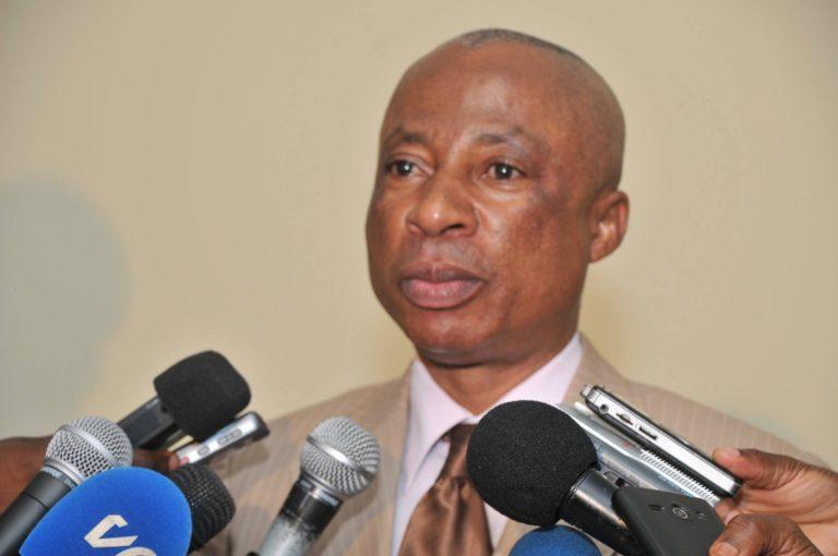 André Ngakala Oko, le procureur de la république près le tribunal de Grande instance de Brazzaville.