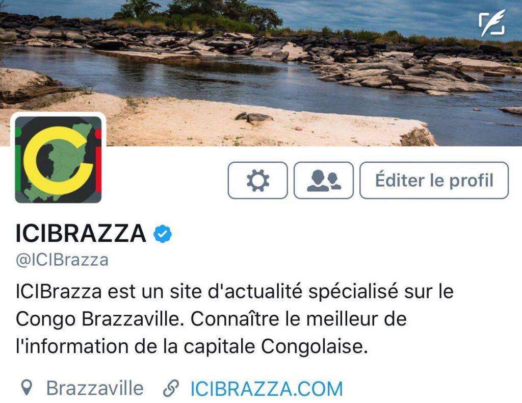 Le compte Twitter de ICIBRAZZA certifié