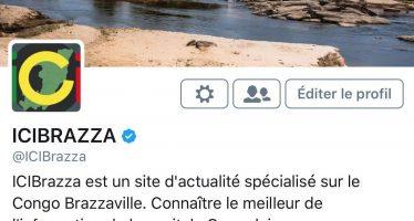 Réseaux Sociaux: le compte Twitter de ICIBRAZZA certifié
