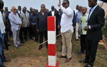 Congo – Zones économiques Spécial: Le Président Sassou N'Guesso visite le site réservé de Pointe Noire