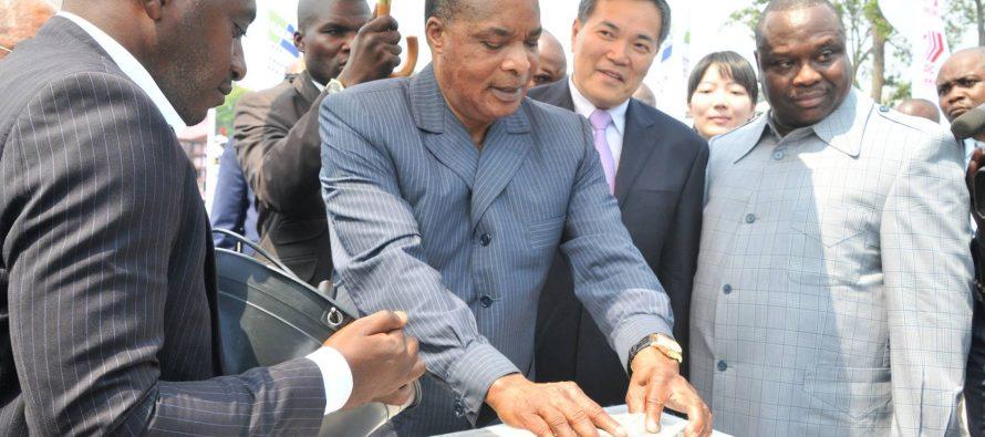 Congo : Pose de la première pierre du nouveau siège du parlement congolais