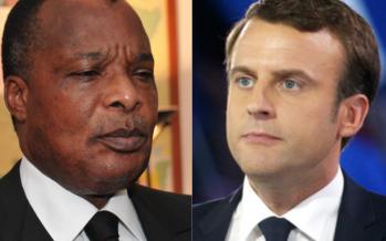 Denis Sassou N'Guesso et ses collègues africains adressent leurs félicitations à Macron