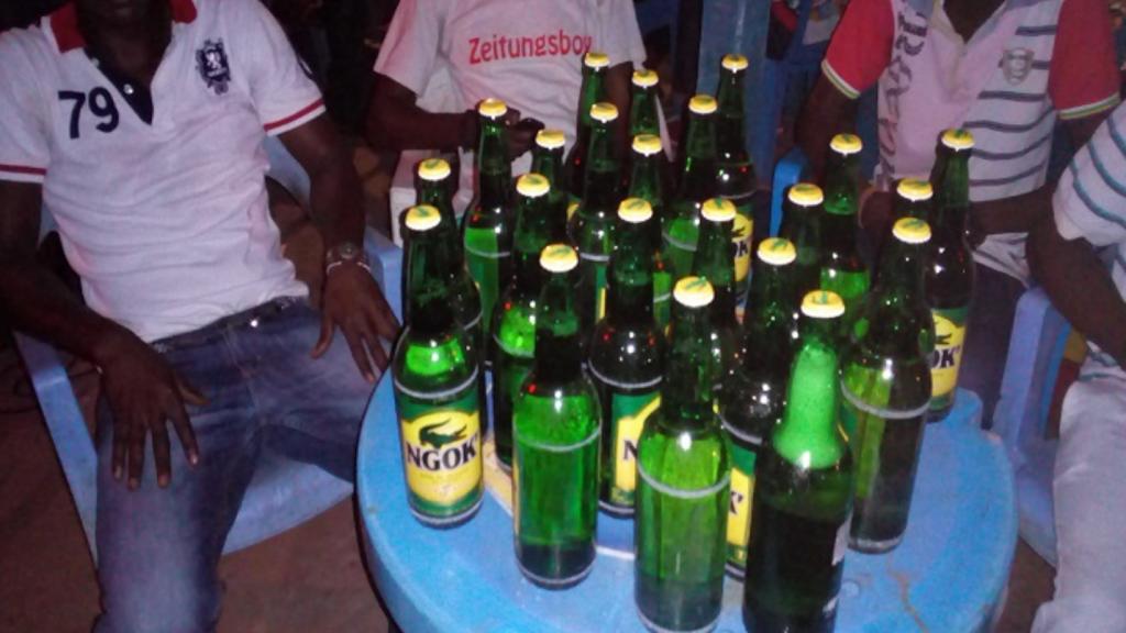 alcool au Congo Brazzaville