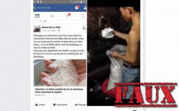 Non, les Chinois ne mettent pas de plastique dans votre riz