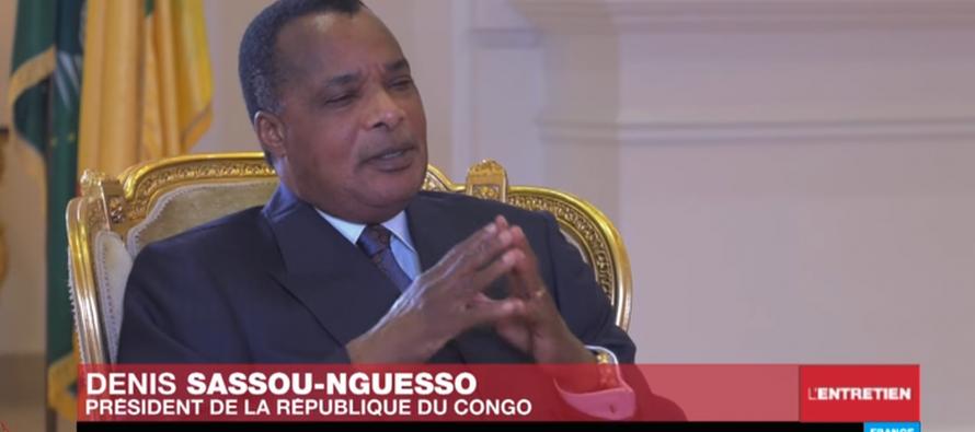 VIDÉO – Denis Sassou-Nguesso : «Il n'y pas de crise politique dans la région du Pool»