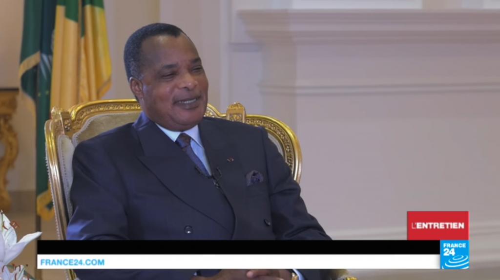 Sassou sur France 24