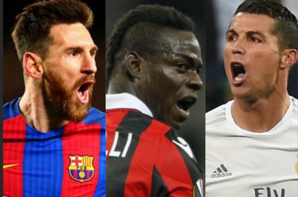 Mario Balotelli devrait «tuer» Cristiano Ronaldo et Lionel Messi pour gagner le Ballon d'Or