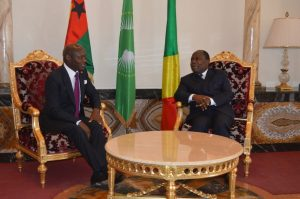 Le Premier ministre Congolais et le Président bissau-guinéen