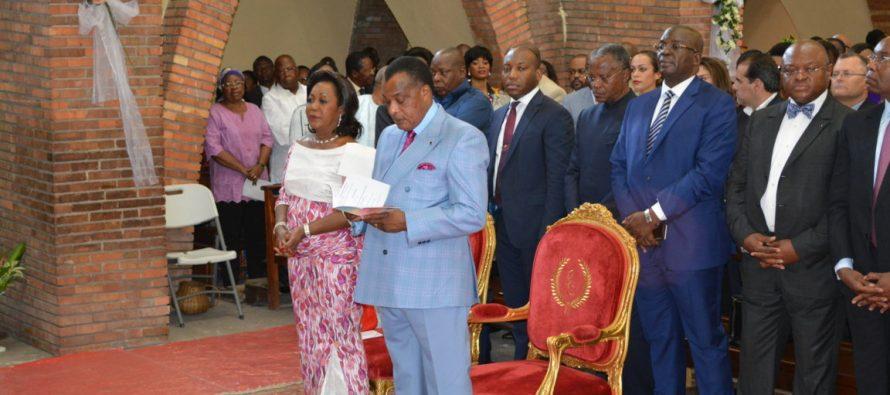Congo : Antoinette Sassou N' Guesso rend grâce à Dieu