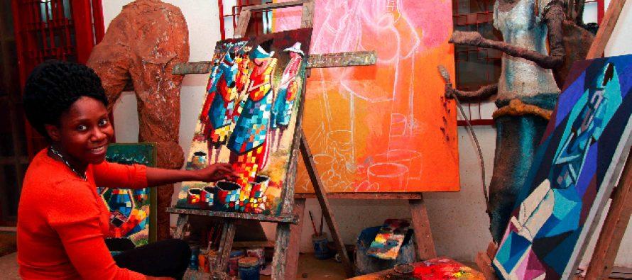 L'artiste congolaise, Rhode Bath-Scheba Makoumbou, participera à la GRAPA