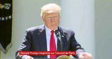 """VIDÉO – Donald Trump : """"J'ai été élu pour représenter les habitants de Pittsburgh, pas de Paris"""""""