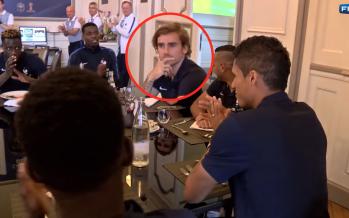 Vidéo: le manque de fair-play scotchant de Griezmann face à Varane