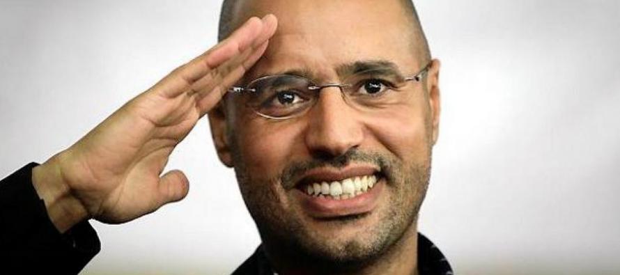 Le fils de Kadhafi, Saïf Al-Islam, sort de prison en Libye