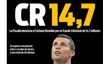 Fraude fiscale : la presse catalane trouve un nouveau surnom qui achève Cristiano Ronaldo