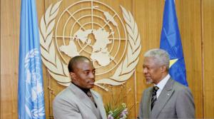 Kabila et Kofi Annan