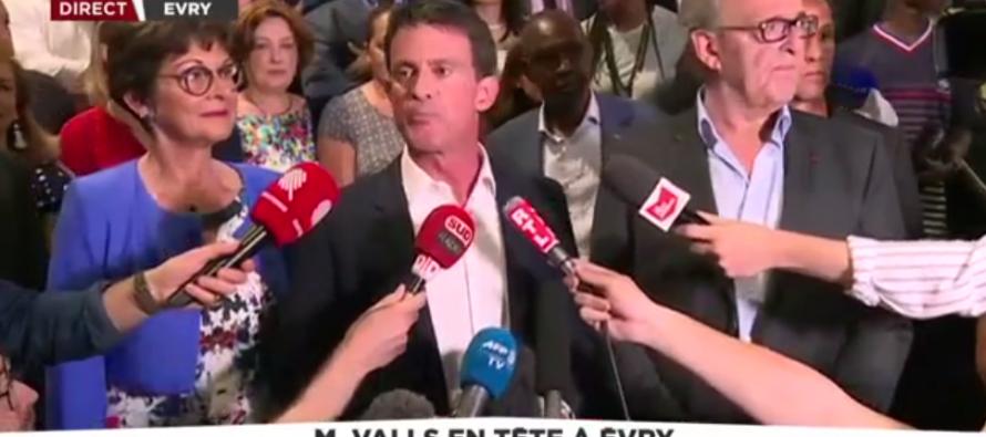 AUTO – PROCLAMATION Législatives 2017 : Ça chauffe à Evry où l'ami Valls dit avoir gagné avec «139 voix» d'avance