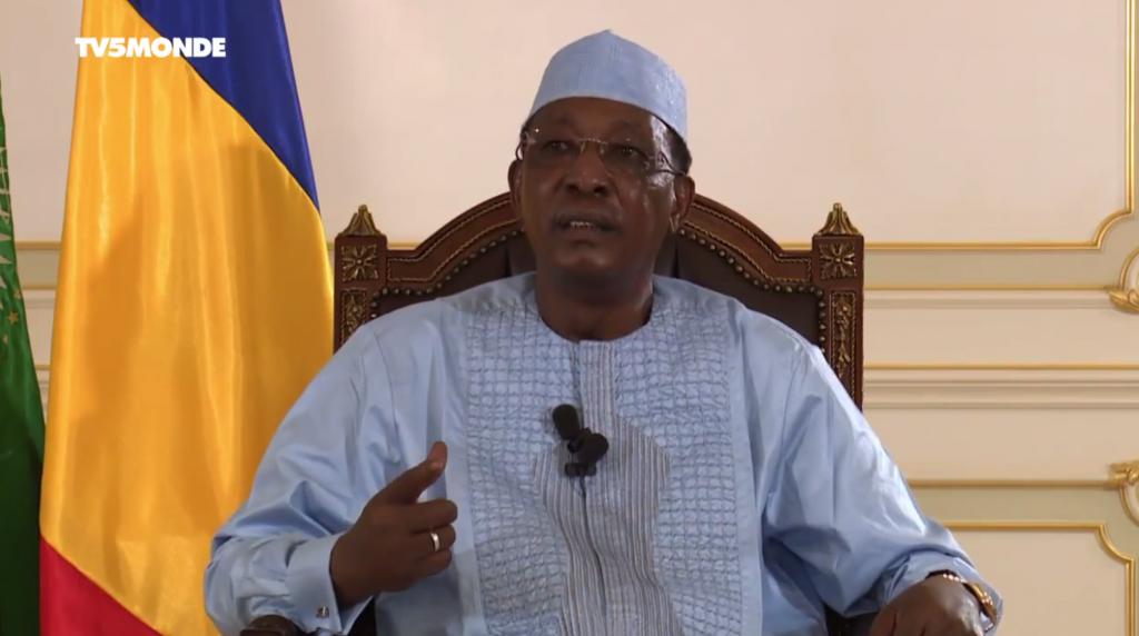 Le chef de l'Etat tchadien, Idriss Déby Itno