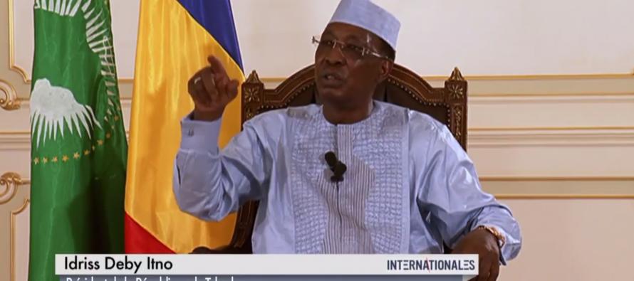 VIDÉO – Idriss Déby accuse la France d'être intervenue au Tchad pour changer la Constitution