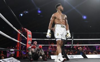 Boxe : le boxeur franco-congolais Tony Yoka remporte son premier combat pro par K.O