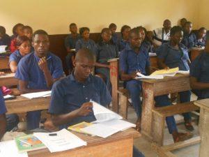 lycée technique agricole Amilcar Cabral, situé à 17 km de Brazzaville