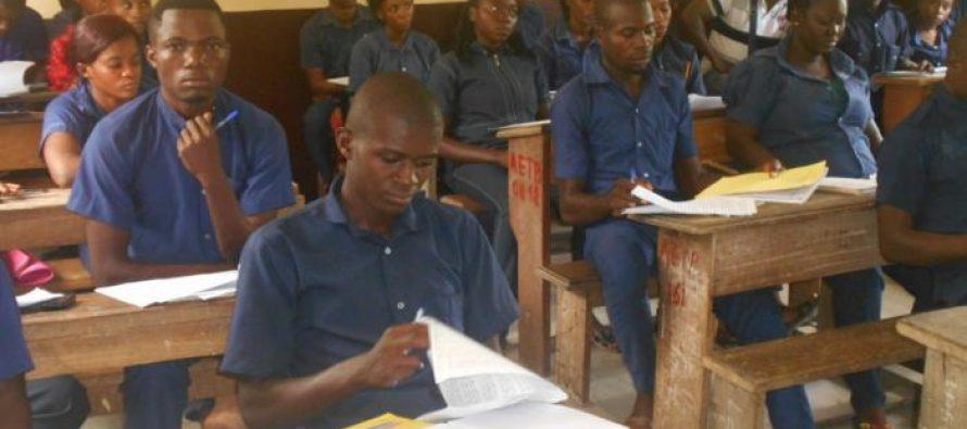 Congo – Brevet d'études technique : 279 candidats du centre de Linzolo reprennent l'examen
