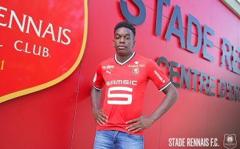 Transferts: Faitout Maouassa signe pour 4 ans au Stade Rennais